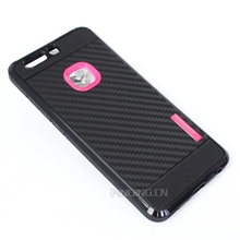 wholesale carbon fiber texture pc tpu mobile phone case for huawei honor v10 case