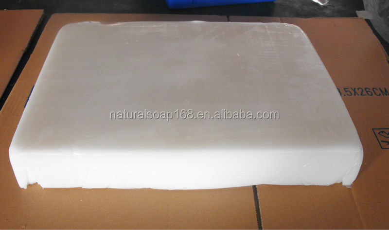 white glycerin soap base