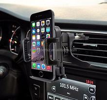 High Quality Flexible Air Vent for Apple iphone 5, 5C, 5S, 6, 6 Plus and Samsung Galaxy ,Cushioned Cradle Car Mount Holder