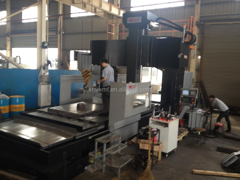 Large processing center machining milling service
