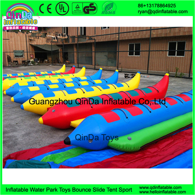 Best quality popular new design banana <strong>boat</strong> towable inflatable water banana <strong>boat</strong> motor <strong>boat</strong> for kids
