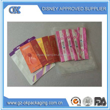 OEM Custom Design Clothes Plastic Packaging Pouches Manufacturers/Custom Printed Resealable Aluminum Foil Packaging Bags