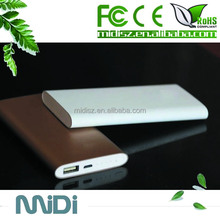 Top quality safety Li-polymer battery external power bank for lenovo