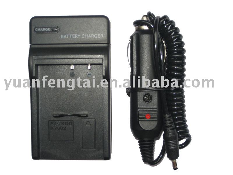 Digital Camera Battery Charger for KODAK KLIC-7002