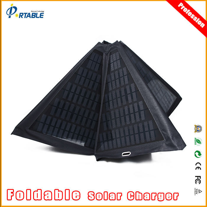 60w solar mobile charger cover solar charger umbrella for 14 inch window fan