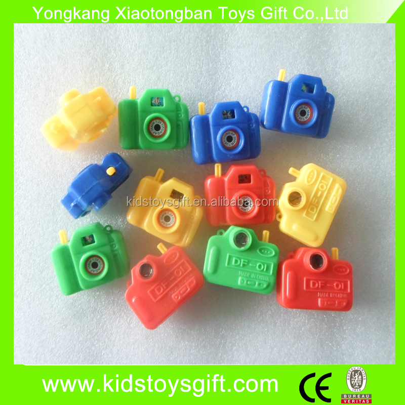 mini plastic camera toy/promotional capsule toy/small kids camera