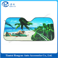 Car sunshade windshield