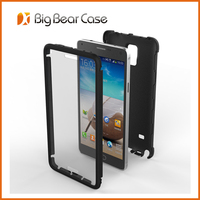 2 in 1 combo cell phone case for Samsung Galaxy Note 4 case