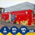 ARK Flatpack Good Quality Expo 2010 Prefabricated house Project