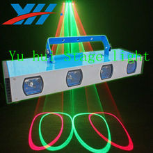 4 lasers DPSS Laser Four Head Red & Green Stage Laser Light