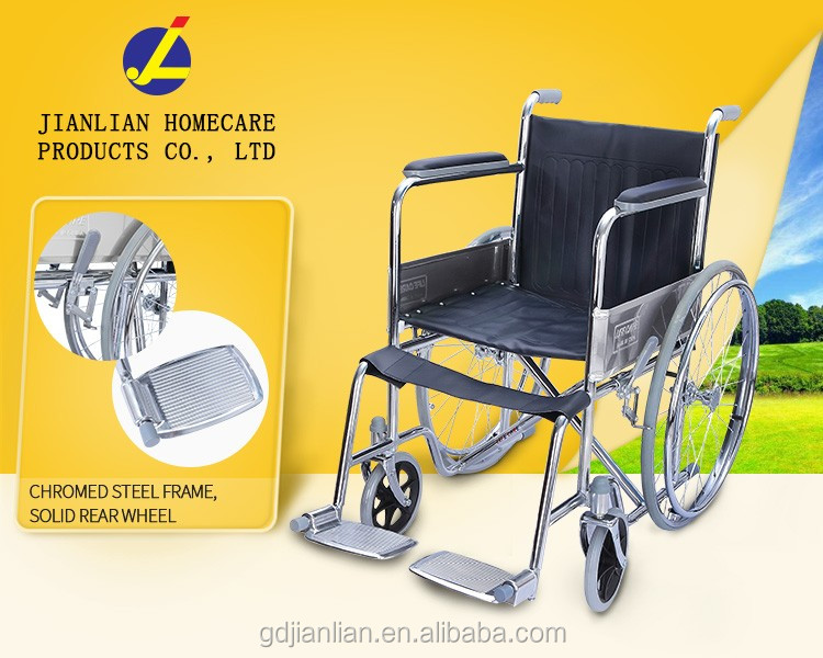 wheelchair price of new manual steel wheelchair
