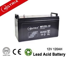 MF high capacity good quality GEL 12v 120ah battery with CE MSDS