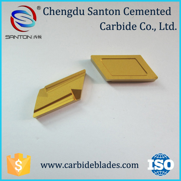SNMX150708 wear resistant carbide scarfing inserts for steel pipes