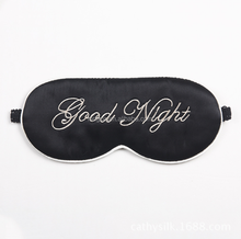 Eye Mask Sleep Soft Padded Shade Cover Rest Relax Sleeping
