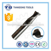 TG OEM HSS CNC Single Crystal Diamond End Mill