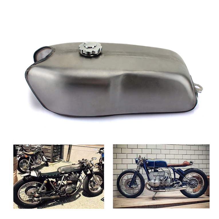 RD50 Cafe Racer Custom Made Motorcycle Gas Fuel Tank