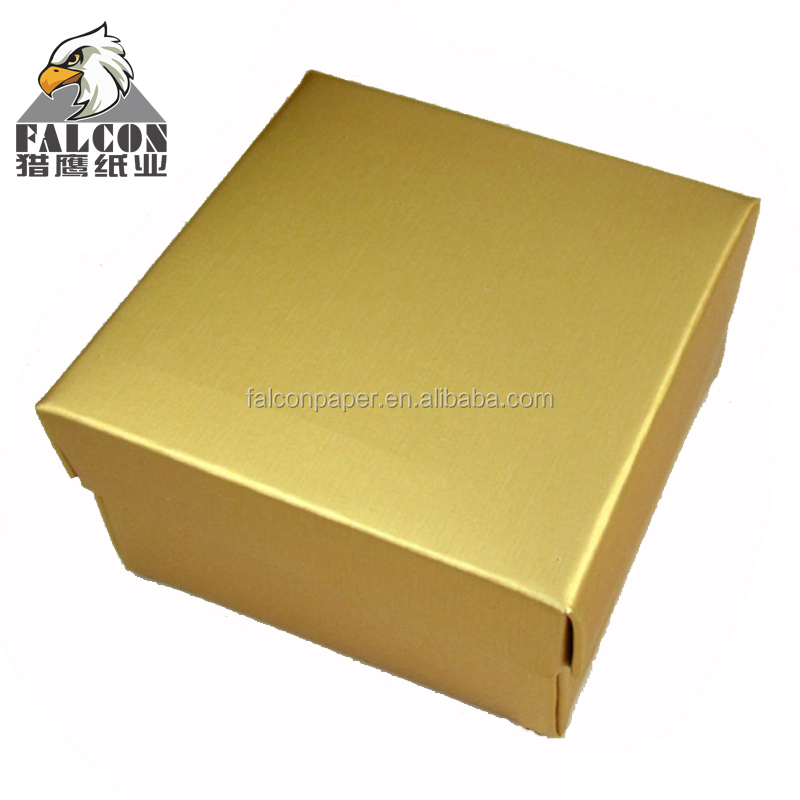 Gold & silver food packaging cake board foil paper