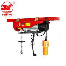 Alibaba China Supplier PA Mini Electric Hoist Trolley Overhead Cranes 200kg