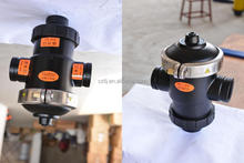 "Cheap price DN25 1"" water bleed valve for 2 way or 3 way Made in China"