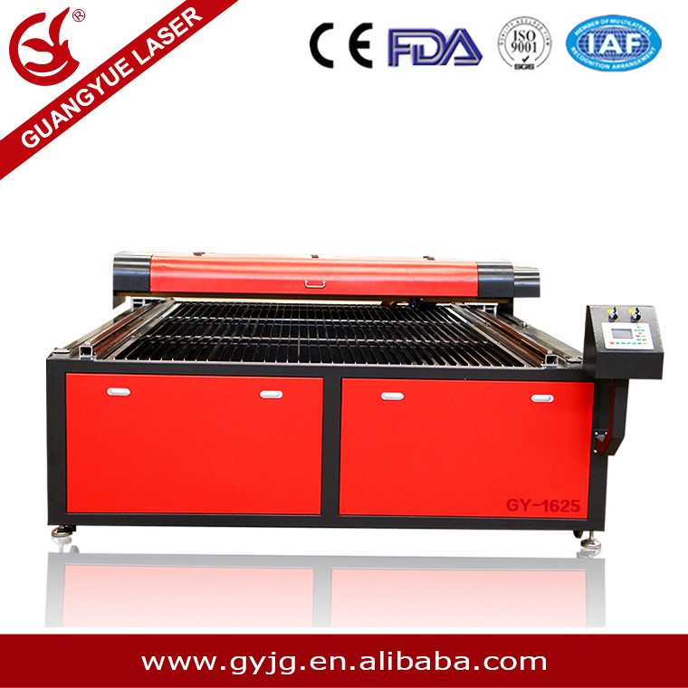 100w 150w CO2 Small MDF Wood Acrylic Granite Stone Paper Fabric Laser cutting /engraving Machine Price Cheap gy-1625