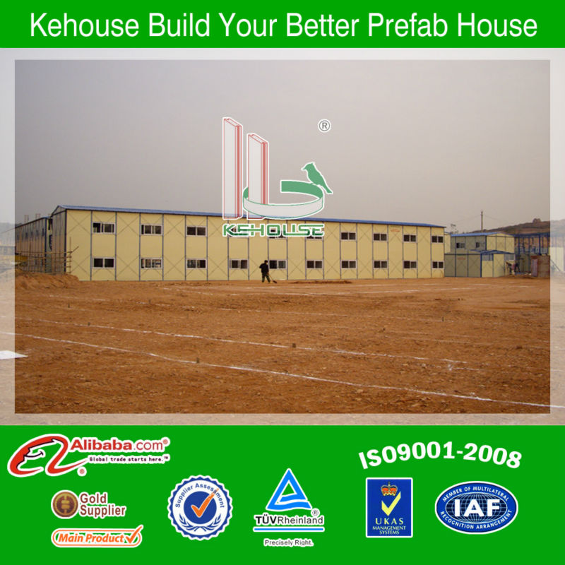 New House Prefabricated Homes Sheet Metal Roof Mobile Homes