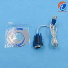 USB 2.0 to RS232 Serial Port 9 Pin Male Adapter Cable with CD driver
