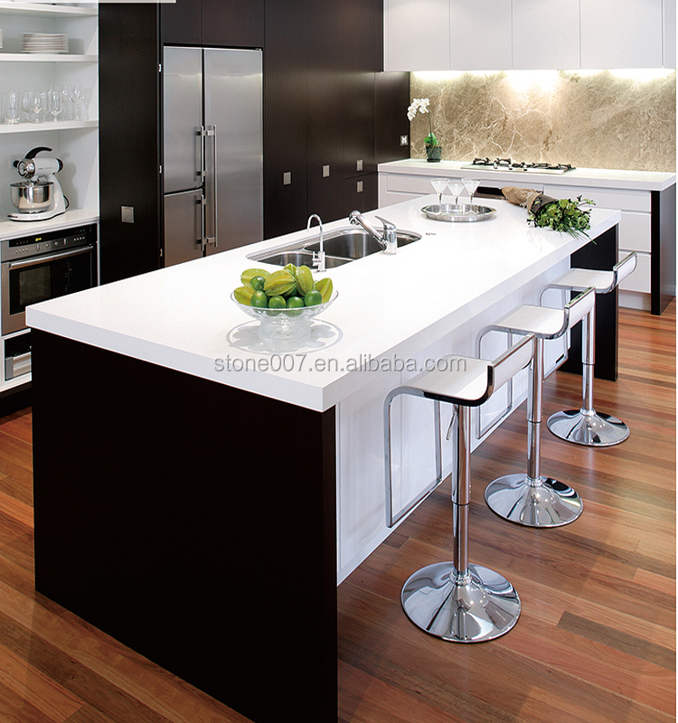 Hot sale man made countertop material quartz vanity top for Man made quartz countertop