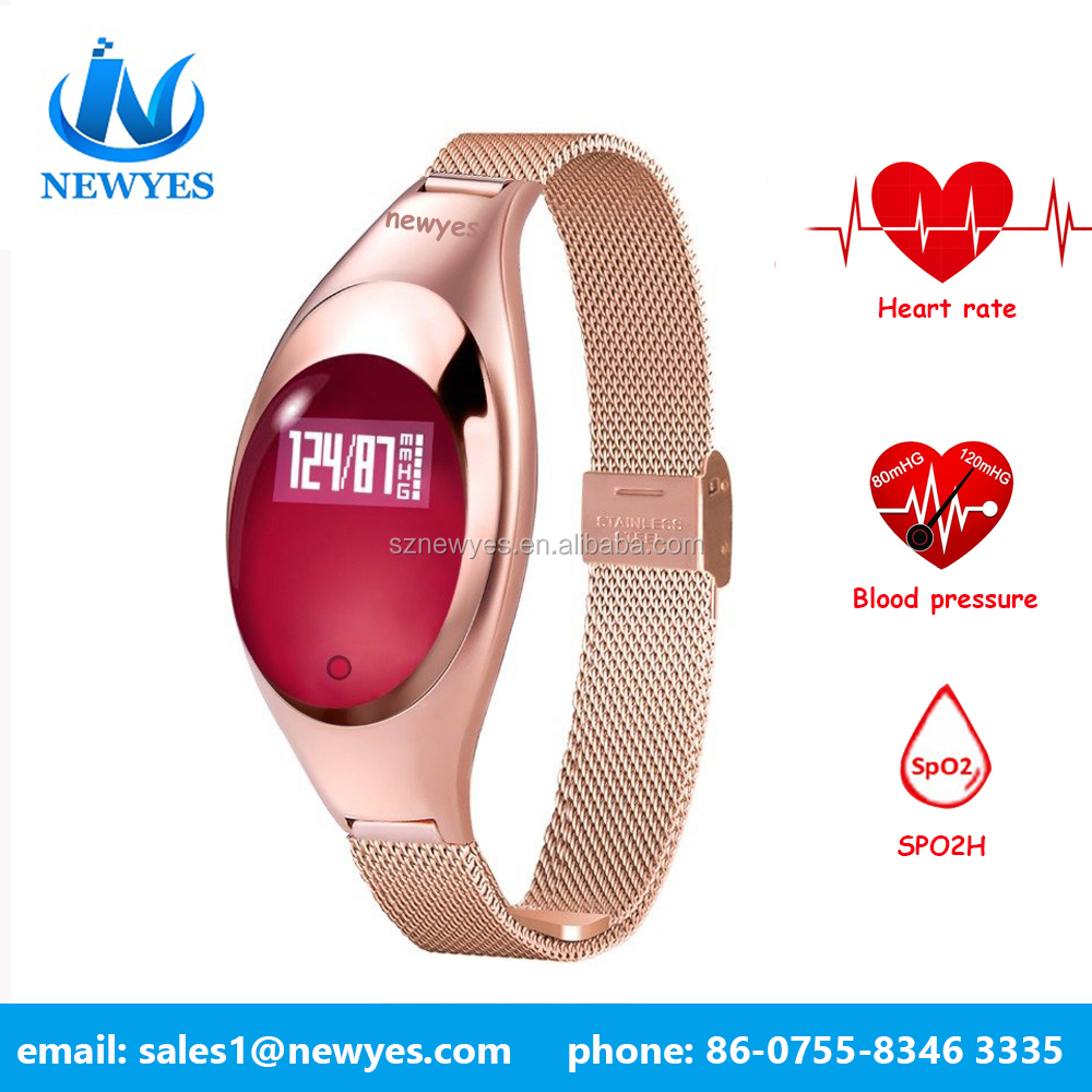 Newyes wholesale smart watch smart heart rate monitor watch with blood pressure monitors wifi smart watch
