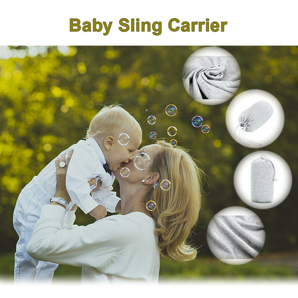 High Quality Baby Sling Wrap Carrier Baby Ring Sling Baby Sling Carrier 2 In 1
