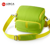 New Design Waterproof Professional Green Digital Camera Bag For Girls For Boys For Nikon Canon Camera