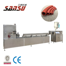 hydraulic rubber hose making machine extrusion production line
