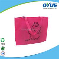 Promotional high quality environmental non woven shopping bag