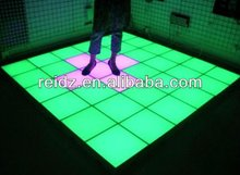 easy installation DMX controllled inductive dance floor hot sales