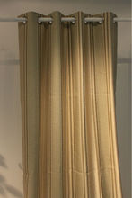 Yellow polyester jacquard type of office window curtain