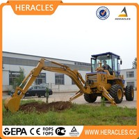 Best selling wheel loader machine mini tractor with front loader