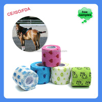 Cohesive Pet Bandages With Animal Pictures