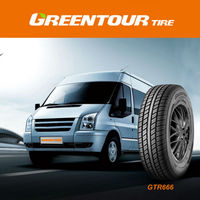 Most popular selling GTR666 radial light commercial tyres for van & light truck