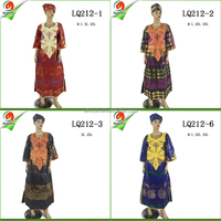 LQ212 Queency Cotton African Traditional Bazin