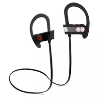 2017 hot sell healthy sport in-ear wireless bt headphone with noise canceling for smart phone