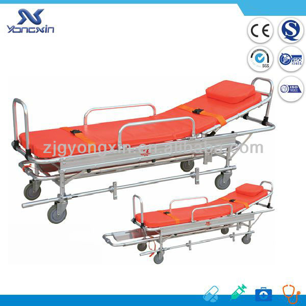 First aid rescue emergency ambulance stretcher