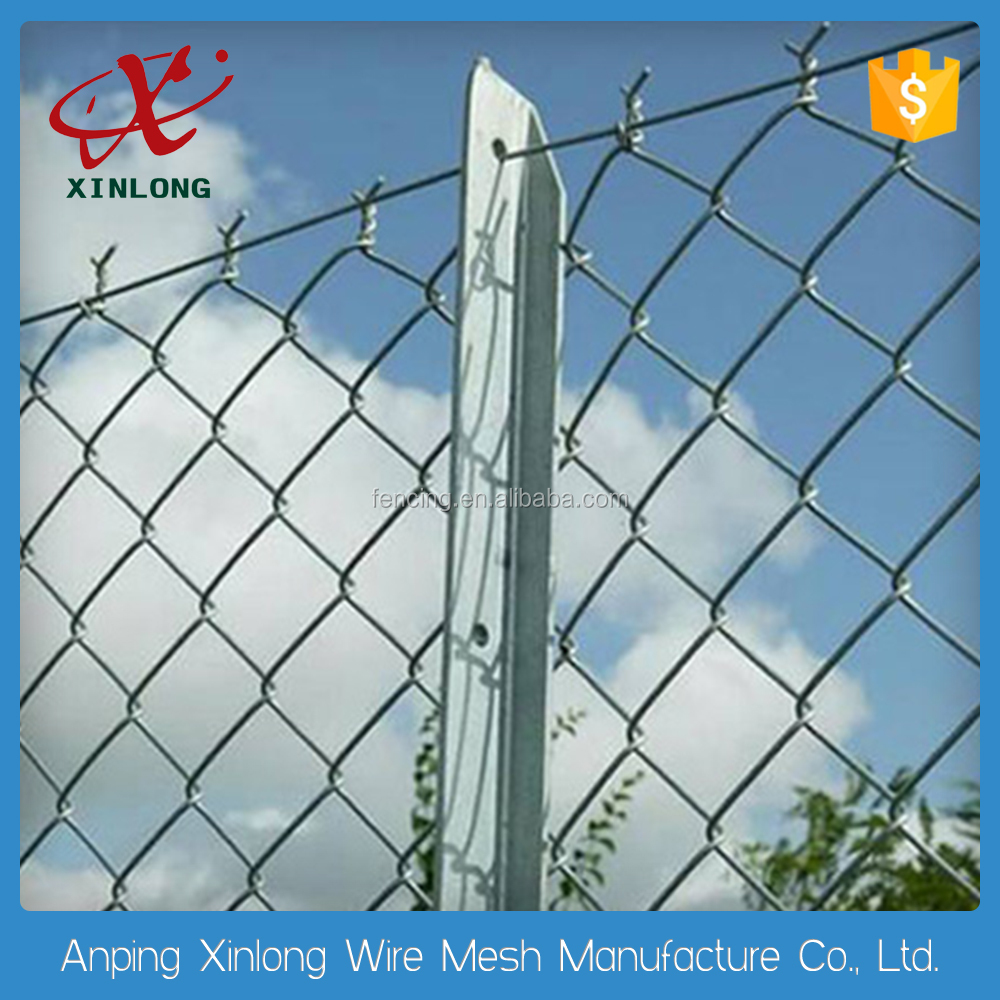 outdoor playgroud protect fence/ manufacture top quality chain link mesh fence