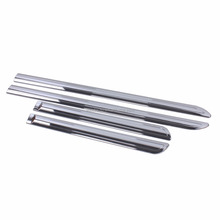 Body Side Door Moulding Cover Trim ABS Chrome 4 Pcs For Innova 2016 Car Parts Price Accessories