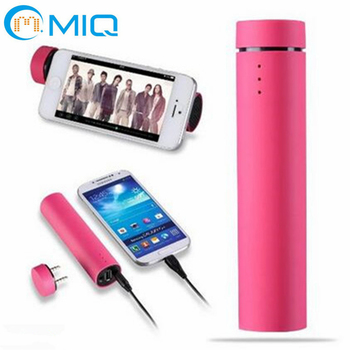 3 in 1 function mini portable speaker power bank with phone holder 4000mah