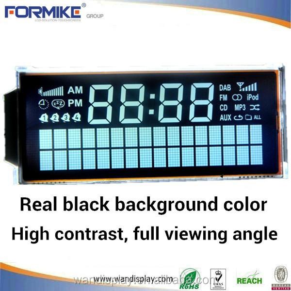 segment character VA EBTN BTN black tn LCD display Rosh Compliant
