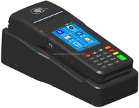 Portable POS Terminal/Handheld Ticket Validator /Handheld Payment Device with FREE SDK, Support Barcode and Card Reading