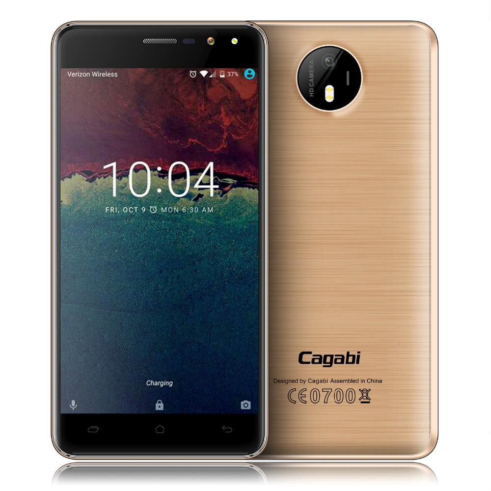 High Admiration Model Cagabi One 4G Android 6.0 Smartphone MTK6737 Quad Core 5 inch Phone 2.5D Corning Glass