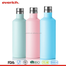 Everich 500ml Colorful Double Wall Insulated Stainless Steel Wine Bottle