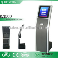 Wireless automatic queue management system