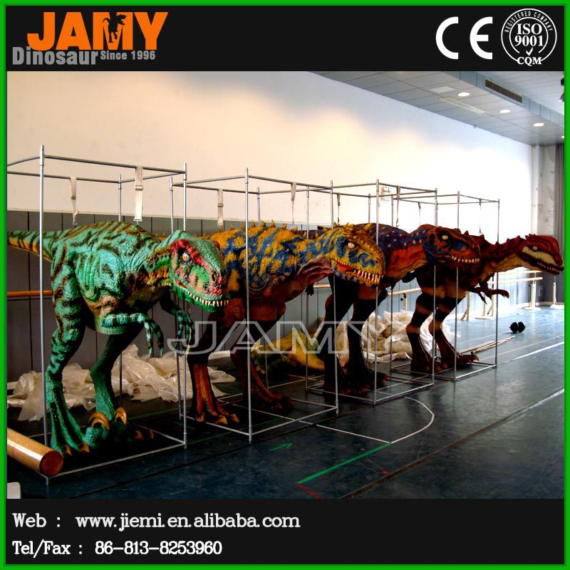 Factory Simulation Animated Dinosaur Costume