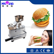 cheap manual burger patty making machine/hot sale stainless steel meat pie making machine/Manual Hamburger Making Machine